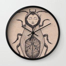 matryoshka beetle Wall Clock