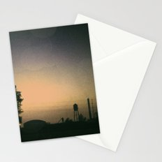 one october night. Stationery Cards