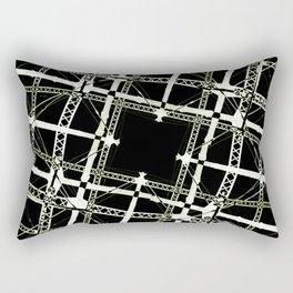 High Tech Grid Rectangular Pillow