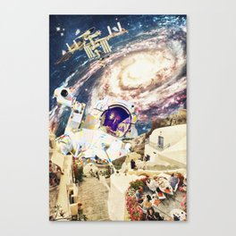 stepped out of a dream Canvas Print