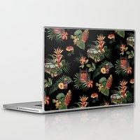 jurassic park Laptop & iPad Skins featuring Classic Jurassic by Josh Ln