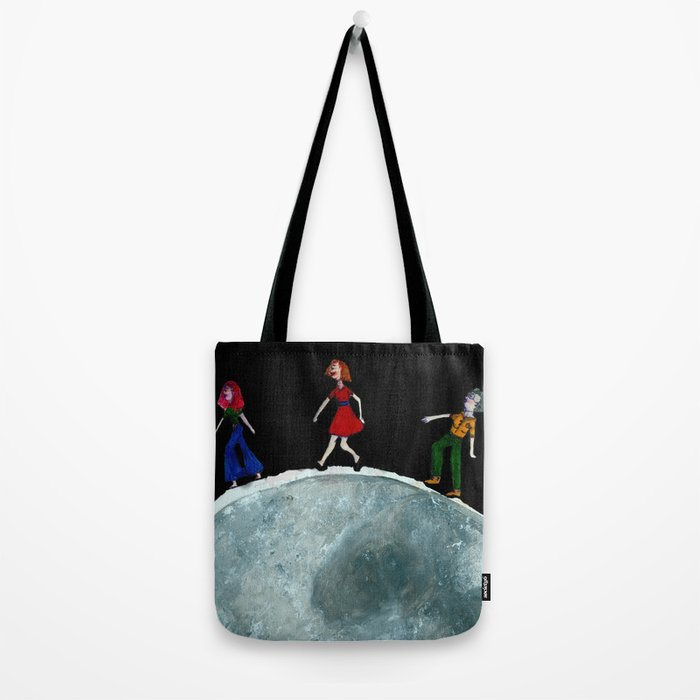 Walking On The Sea Of Tranquility Tote Bag