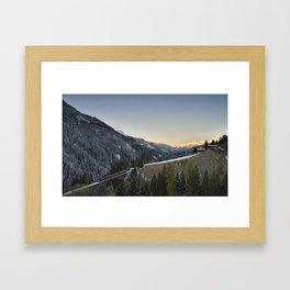 Schanfigg GR Langweis 2 Framed Art Print