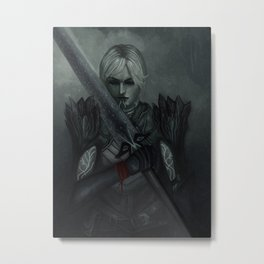 Dragon Age: Fenris - Lyrium Ghost Metal Print