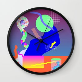 Science Party Wall Clock