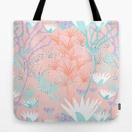 Lotus + Papyrus Garden Tote Bag