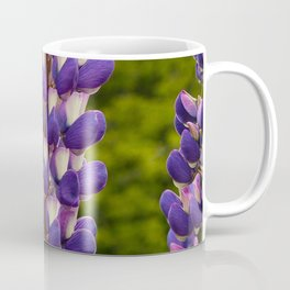 Lupine Flowers in New Zealand Meadow Coffee Mug