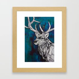 Buck Framed Art Print