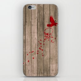 And the birds shall feast... iPhone Skin