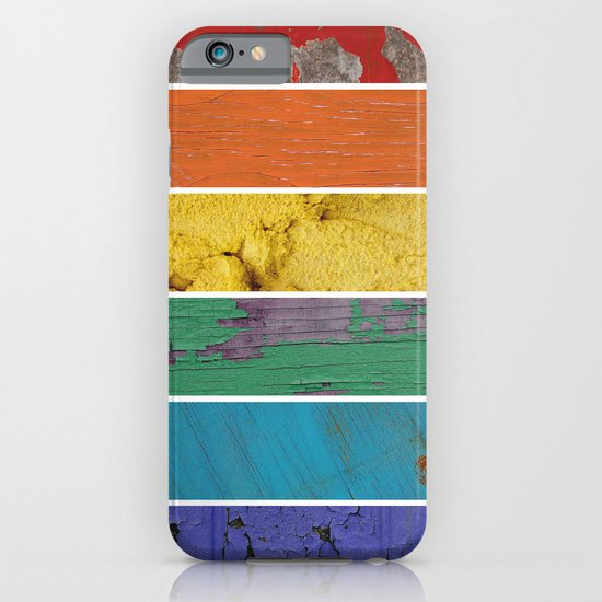 texture rainbow iPhone & iPod Case