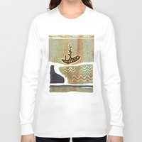 boat Long Sleeve T-shirts featuring Boat by Menchulica