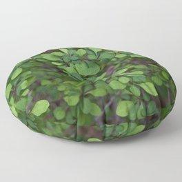 A Shrubbery Floor Pillow