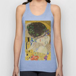 The Kiss - Closeup - Gustav Klimt Unisex Tank Top
