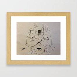 Lon Jabadie Framed Art Print