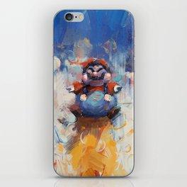 P Balloon - Super Mario World Series / Gaming & Video Games iPhone Skin