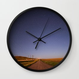 north of great falls, mt Wall Clock