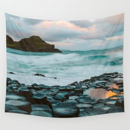 Giant's Causeway at Sunrise Wall Tapestry