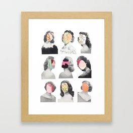 Yearbook Framed Art Print