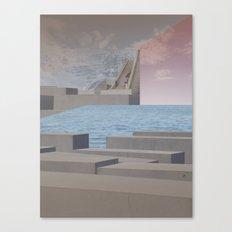 atmosphere 29 · Eternity Beton Memories Canvas Print