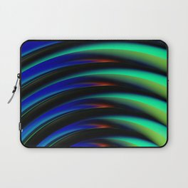 No Negative Waves Laptop Sleeve