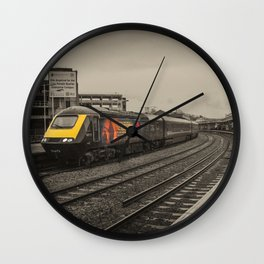 Harry Patch at Bristol Temple Meads Wall Clock