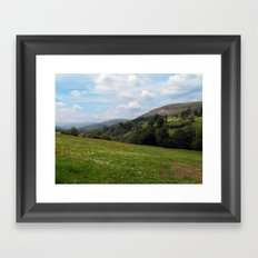 Upper Swaledale Framed Art Print