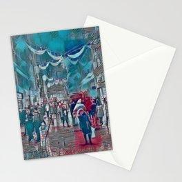 Calling Santa. Stationery Cards