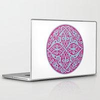 persian Laptop & iPad Skins featuring Persian circle by Osgarr
