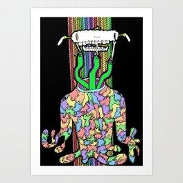 D.D.F.D.E.A. Art Print