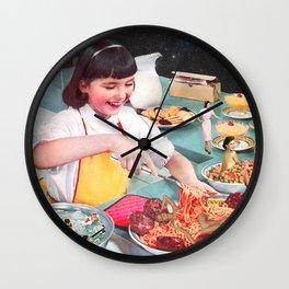 Foodies be Like Wall Clock