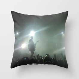 Silhouettes and Songs Throw Pillow