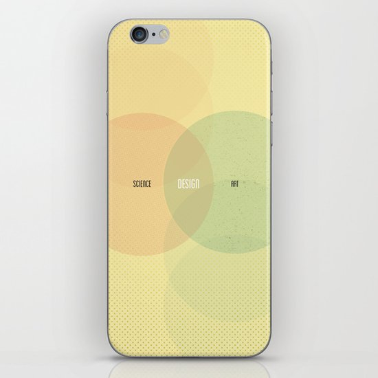 Design is Where Science and Art Break Even iPhone & iPod Skin