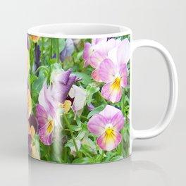 Petunias in a Pot Coffee Mug