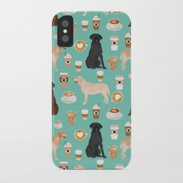 Labrador retriever gifts for lab owners golden retriever chocolate lab black lab dog breeds iPhone Case