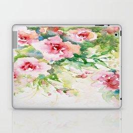 Cascading roses -Watercolor Laptop & iPad Skin