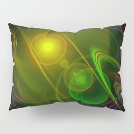 Abstract in perfection - Space Pillow Sham