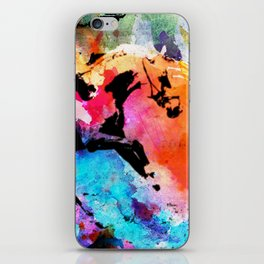 Run away iPhone Skin