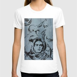 Frida Futura by MrMAHAFFEY T-shirt