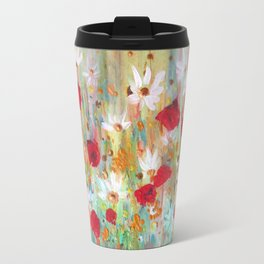 A summer meadow Travel Mug