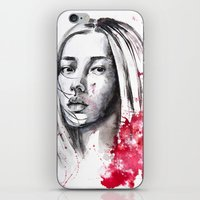 asia iPhone & iPod Skins featuring asia by Lua Fraga