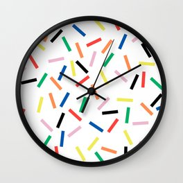 Sprinkles Fresh Wall Clock