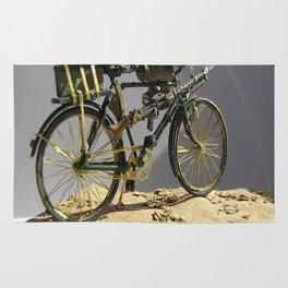Old bicycle Zvonekmakete Rug