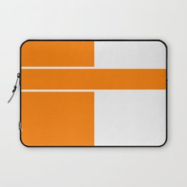 Team Color 6...orange,white Laptop Sleeve