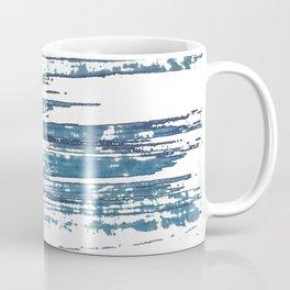 Streaky Blue Water Coffee Mug