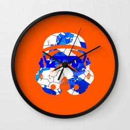 Stormtrooper Contrast Pattern 2 Wall Clock