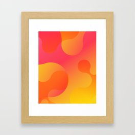 Lava Lamp v.4 Framed Art Print
