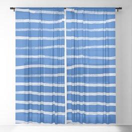 Greek Island Summer Sheer Curtain