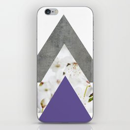 Ultra Violet Blossoms Arrows iPhone Skin