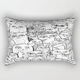 Crazy Cats Rectangular Pillow