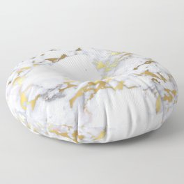 Original Gold Marble Floor Pillow